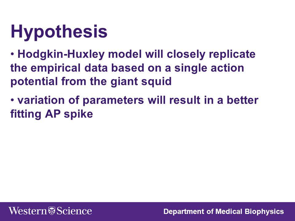 Hodgkin-Huxley (1952): http://www.ncbi.nlm.nih.gov/pmc/ articles/PMC1392413/pdf/jphysiol01442-0106.pdfhttp://www.ncbi.nlm.nih.gov/pmc/ articles/PMC1392413/pdf/jphysiol01442-0106.pdf Department of Medical Biophysics Circuit Diagram Interpretation