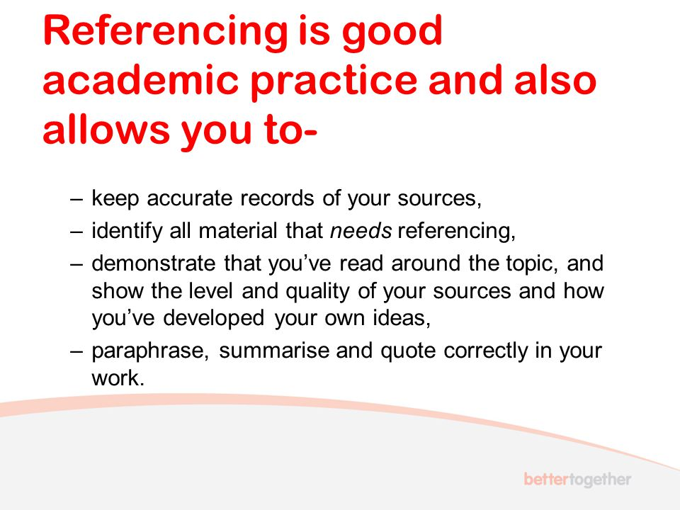 Harvard referencing system at UWE There are many referencing systems available and they are just a standard method for describing an information source.
