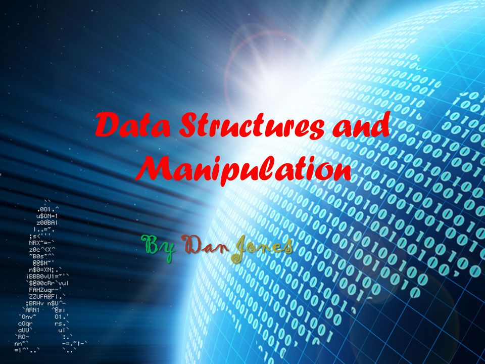 DATA MANIPULATION MERGING Methods of merging lists.