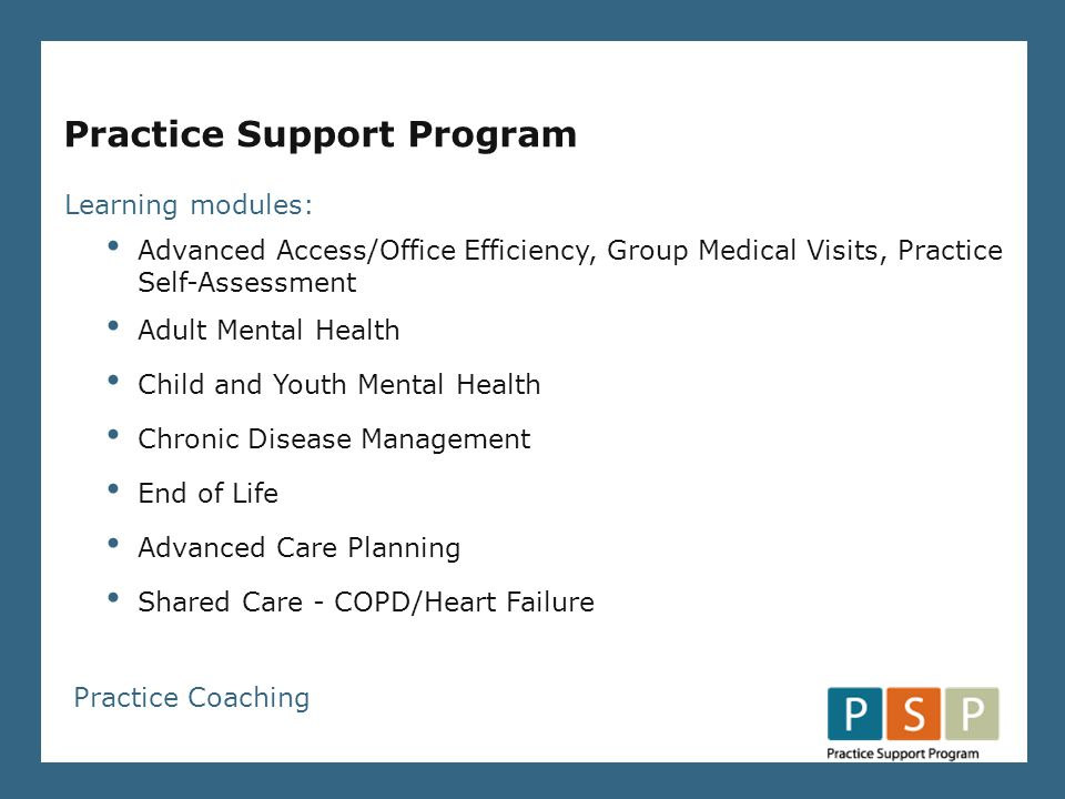Formed in 2006 (PMA) Mandate to provide funding and project support to family physicians and specialist physicians to improve the flow of patient care from primary to specialist services.