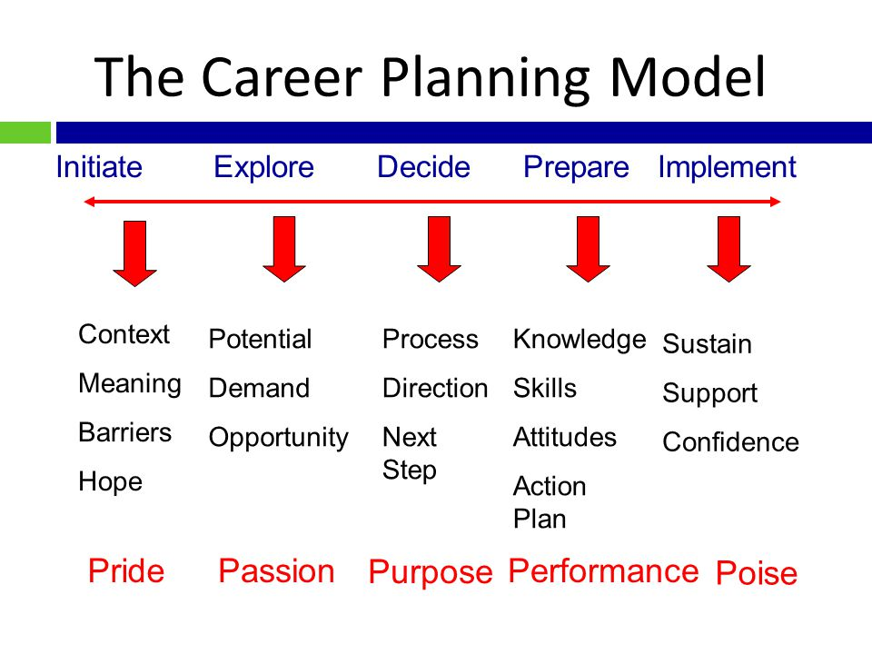 """Career The constellation of life-roles an individual plays over his or her lifetime. It is one's """"life story""""."""