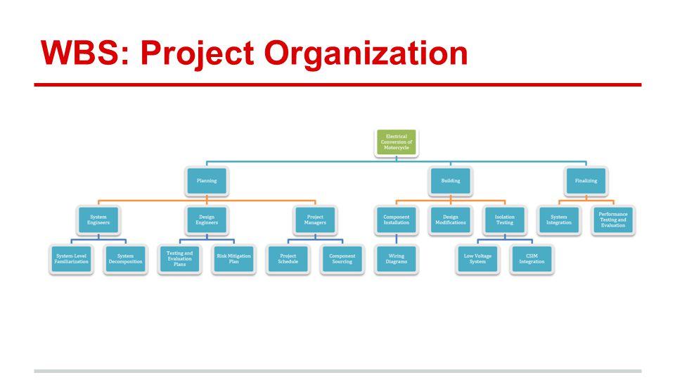 WBS: Project Organization