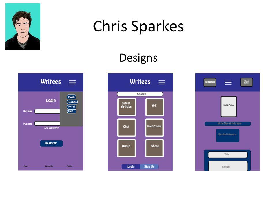 Chris Sparkes Designs