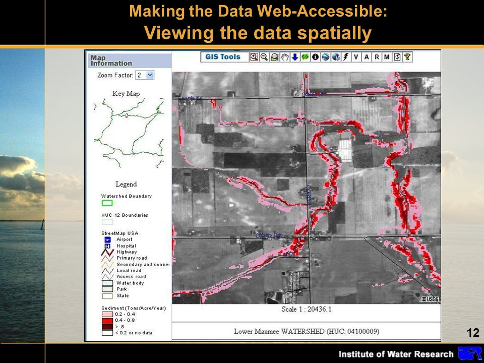 12 Making the Data Web-Accessible: Viewing the data spatially