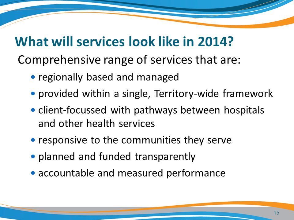 What will services look like in 2014.