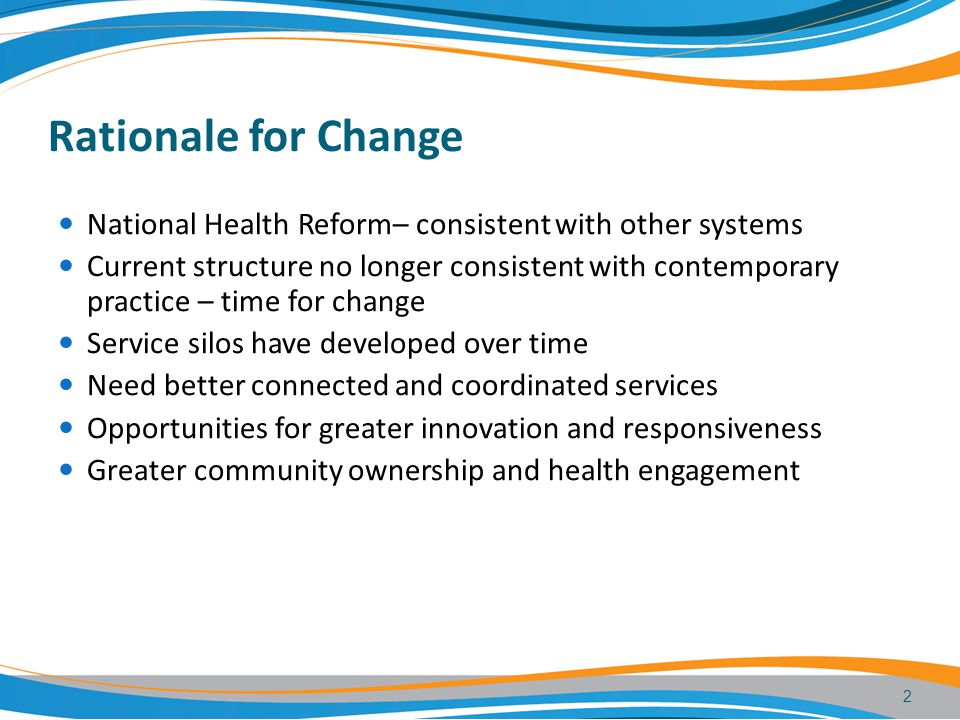 Draft Health Services Bill The Bill gives legal effect to the New Service Framework.
