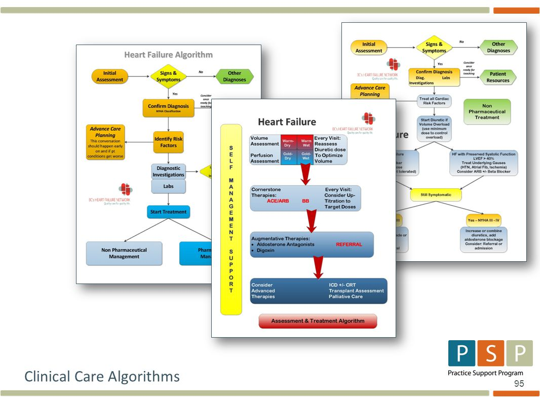 95 Clinical Care Algorithms