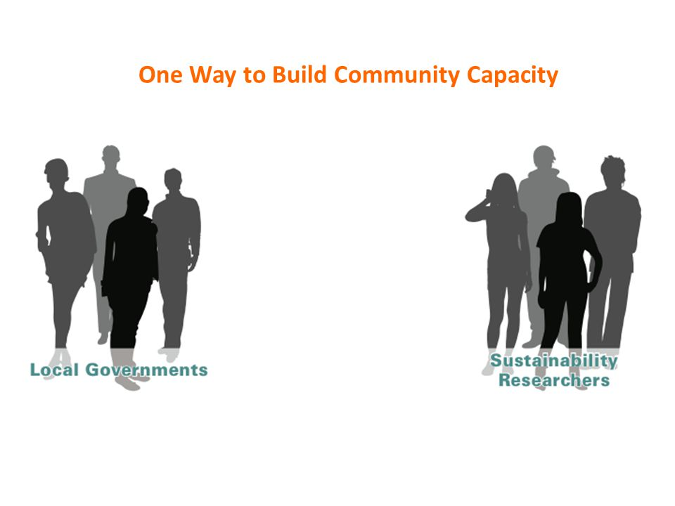 One Way to Build Community Capacity