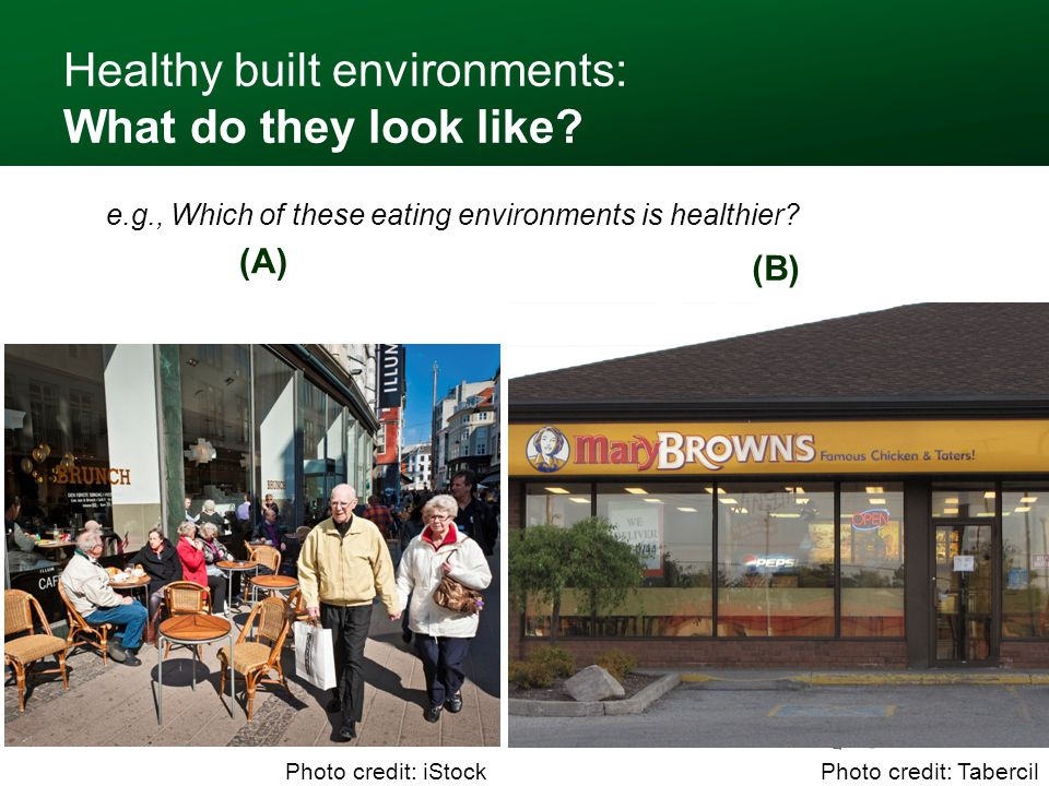 Healthy built environments: What do they look like.