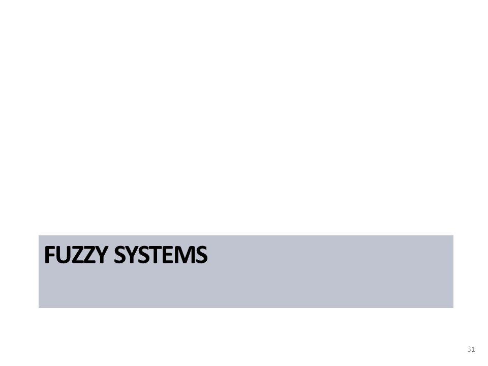 FUZZY SYSTEMS 31