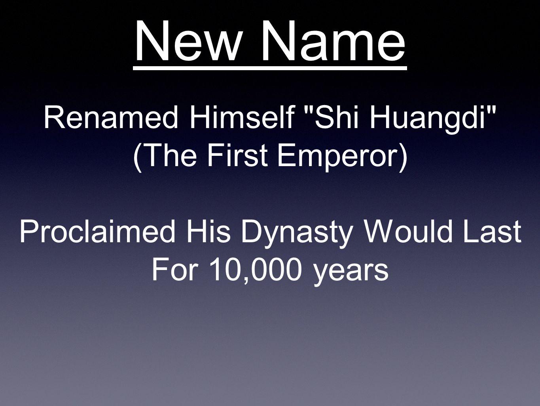 New Name Renamed Himself
