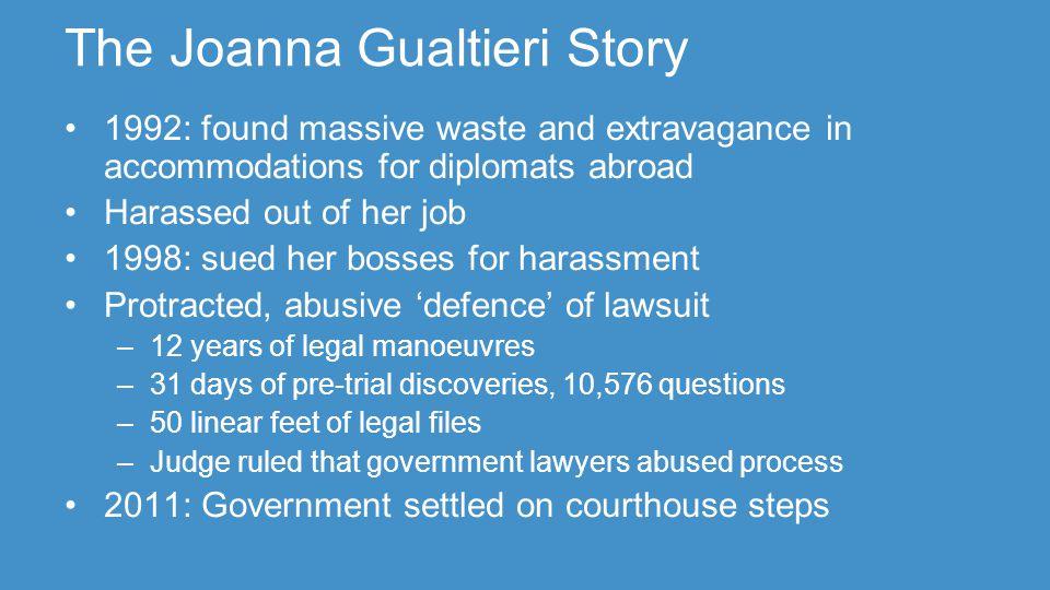 The Gualtieri Files
