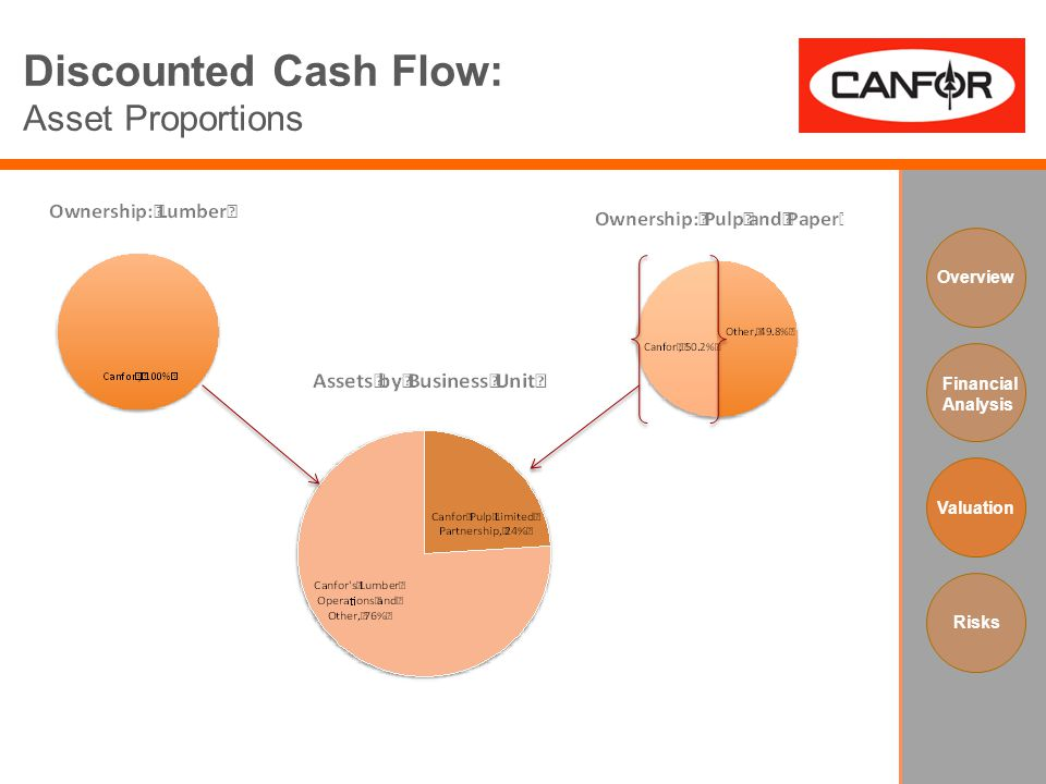 Discounted Cash Flow: Asset Proportions Overview Financial Analysis Valuation Risks