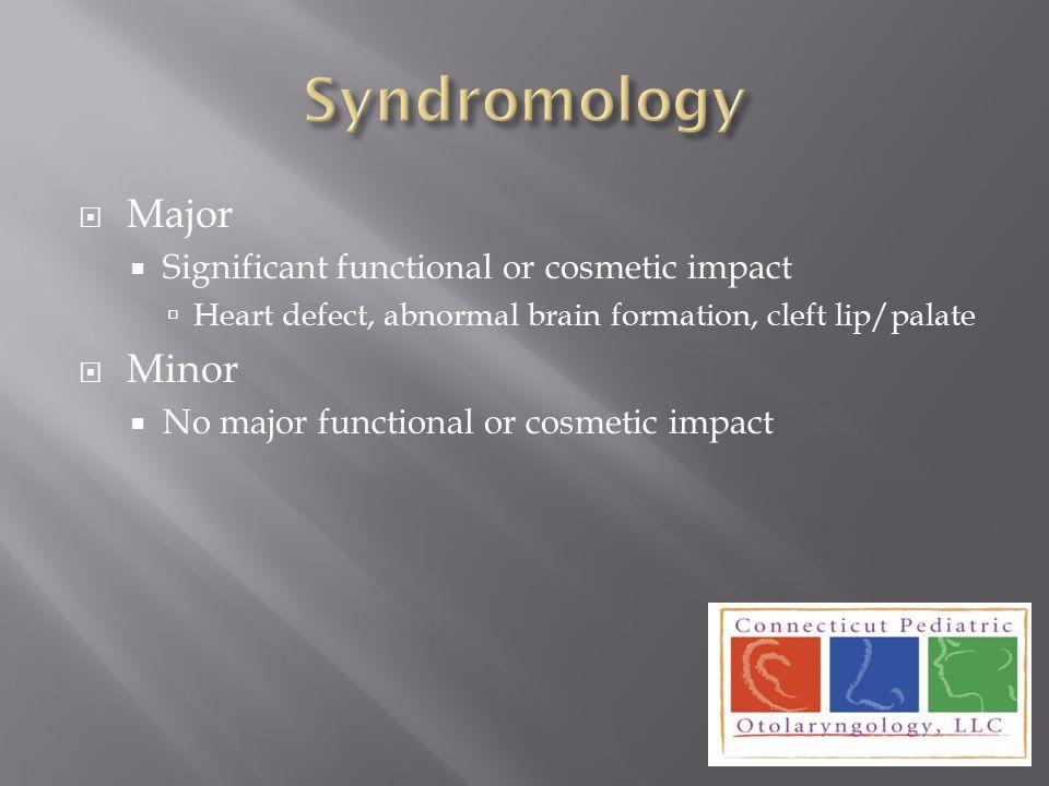  Environmental (Teratogenic)  Alcohol exposure  Chromosomal  Single gene  Multiple gene