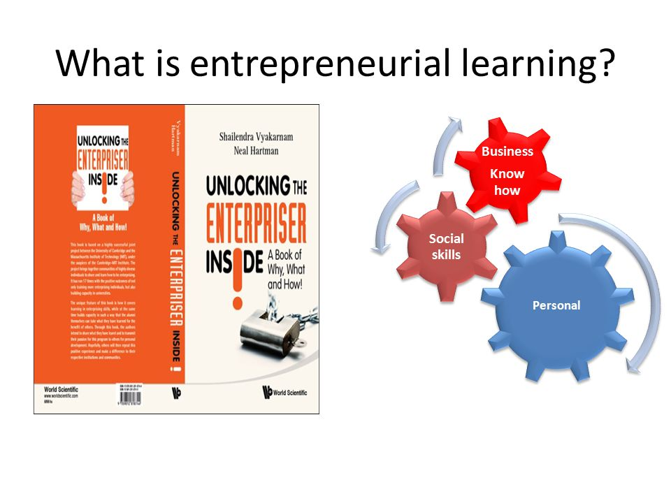 What is entrepreneurial learning