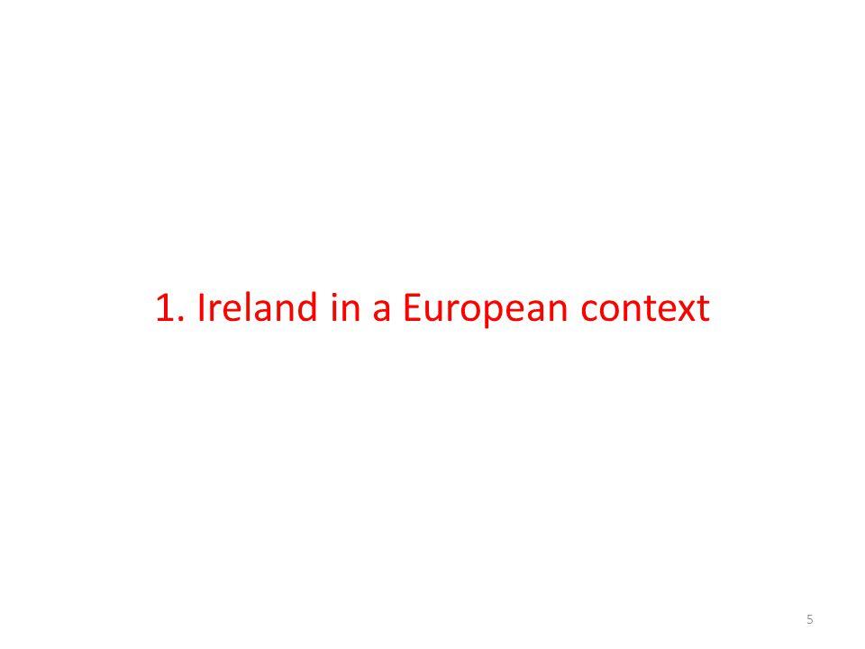 1. Ireland in a European context 5