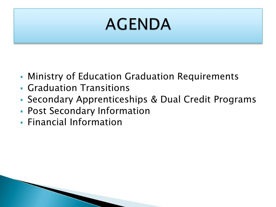 Smaller Universities/College Entrance  The specific entrance requirements for the program of interest.