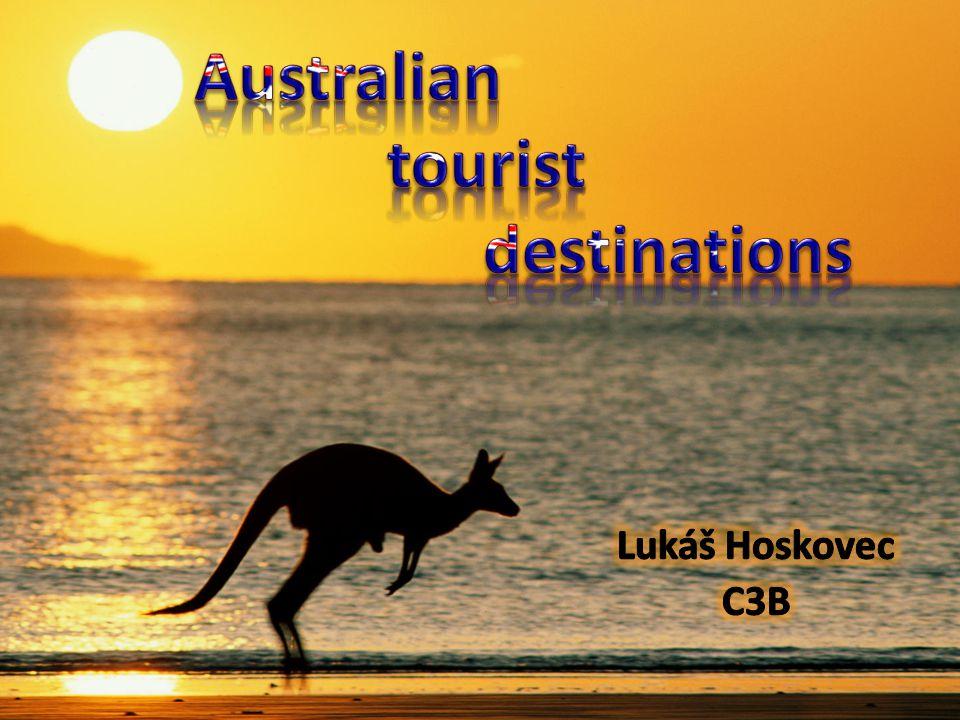 1)Sydney 2)Perth 3)Tasmania 4)Fraser Island 5)Kakadu National Park 6)Uluru 7)Jamison Valley 8)Great Barrier Reef
