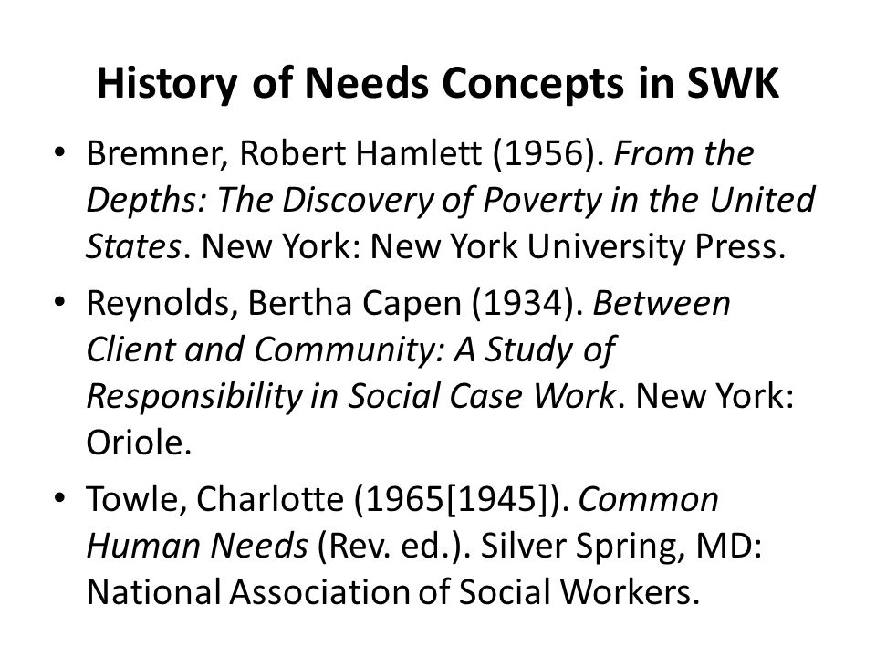 Human Needs and Cultural Diversity Within social work, this has been recognized at the theoretical level (Guadalupe and Freeman, 1999), at the pedagogical level (Blake, 1994), and at the level of the mission of the field as a whole (Mullaly, 2001).