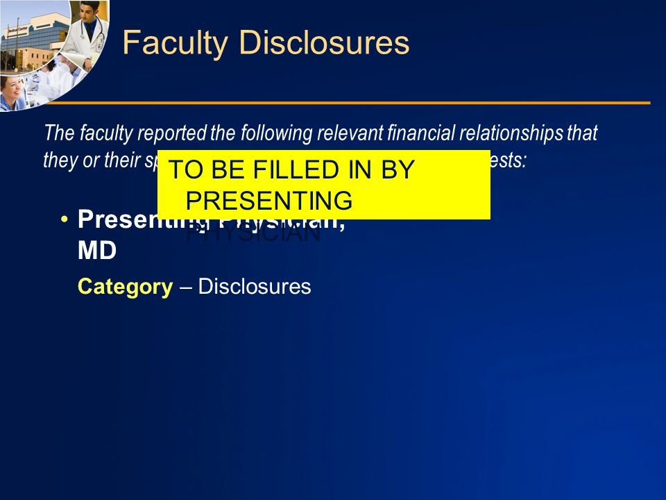 Planner and Manager Disclosures Non-faculty content contributors and/or reviewers reported the following relevant financial relationships that they or their spouse/partner have with commercial interests: University of Cincinnati, Potomac Center for Medical Education, and Rockpointe Corporation staff involved with this activity have nothing to disclose.