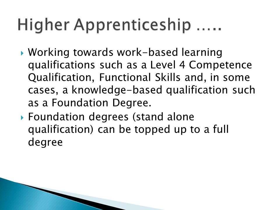  Do you have A Levels, then the Higher Apprentice programme can accelerate your career prospects.