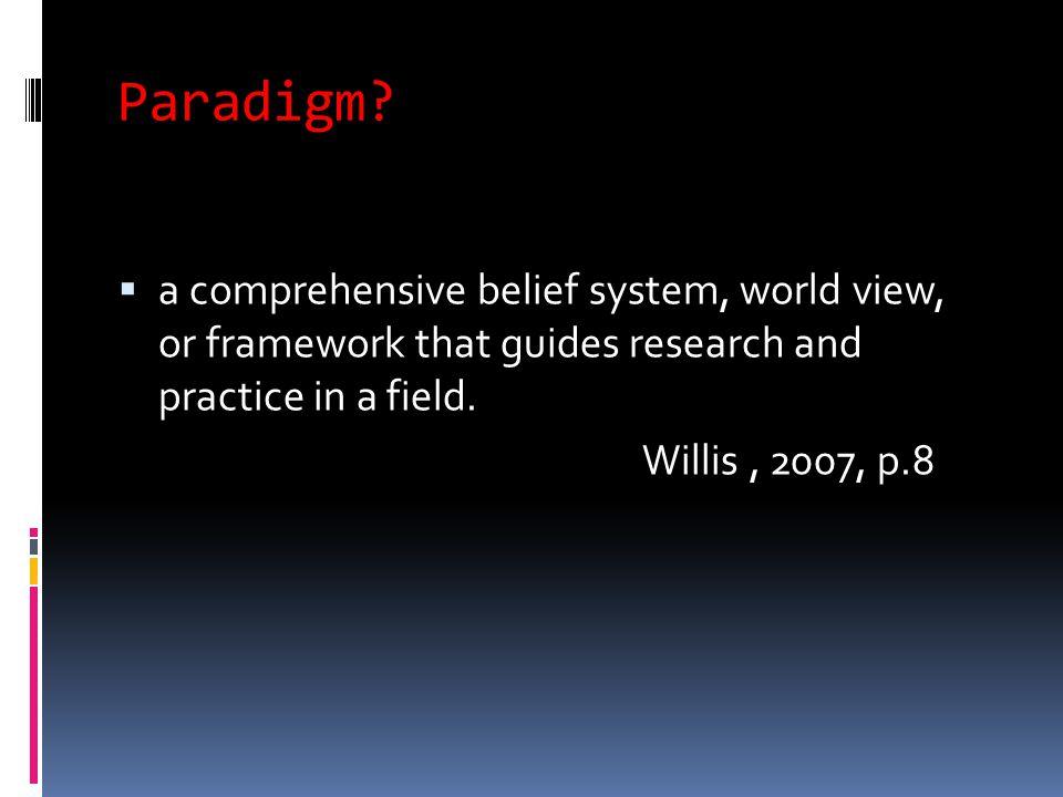 Paradigm.