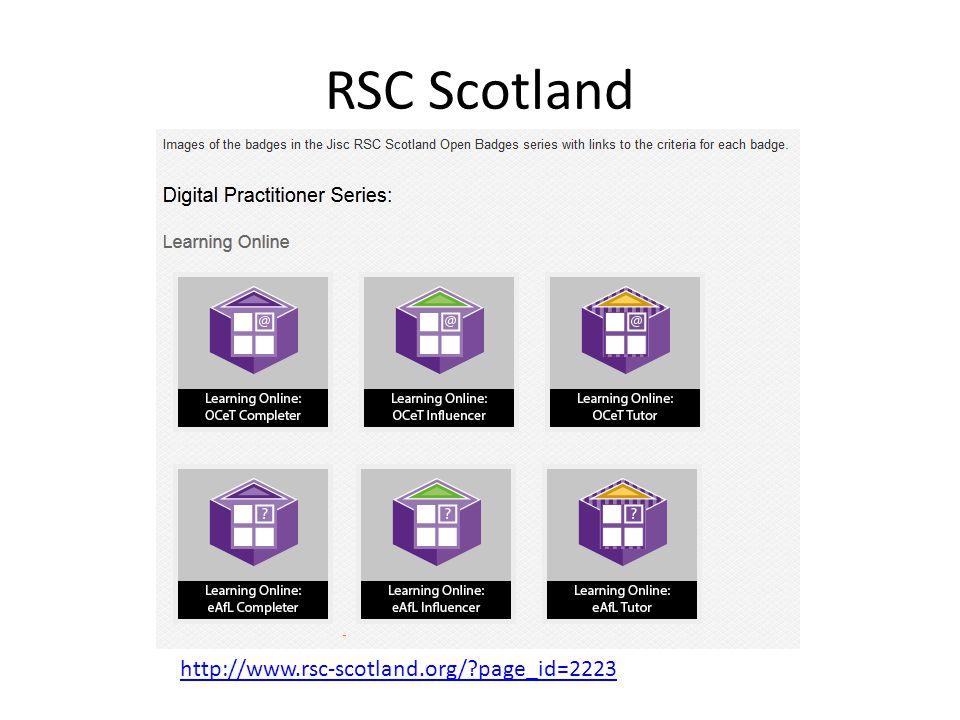 RSC Scotland http://www.rsc-scotland.org/?page_id=2223