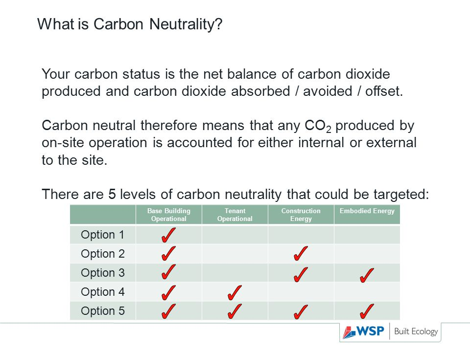 What is Carbon Neutrality.