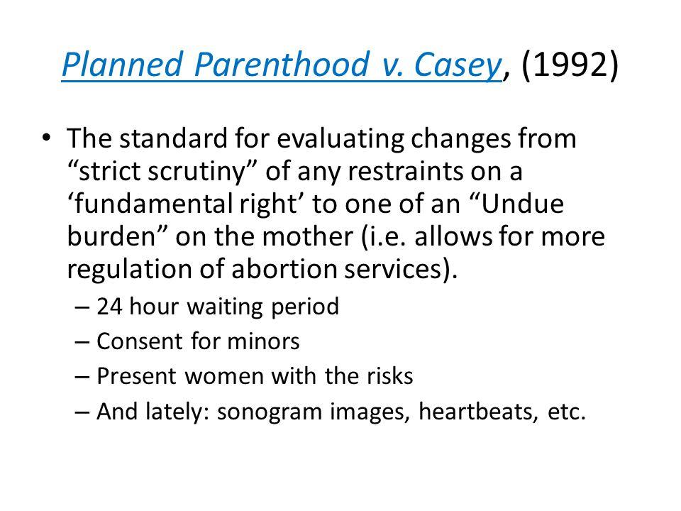 Planned Parenthood v.