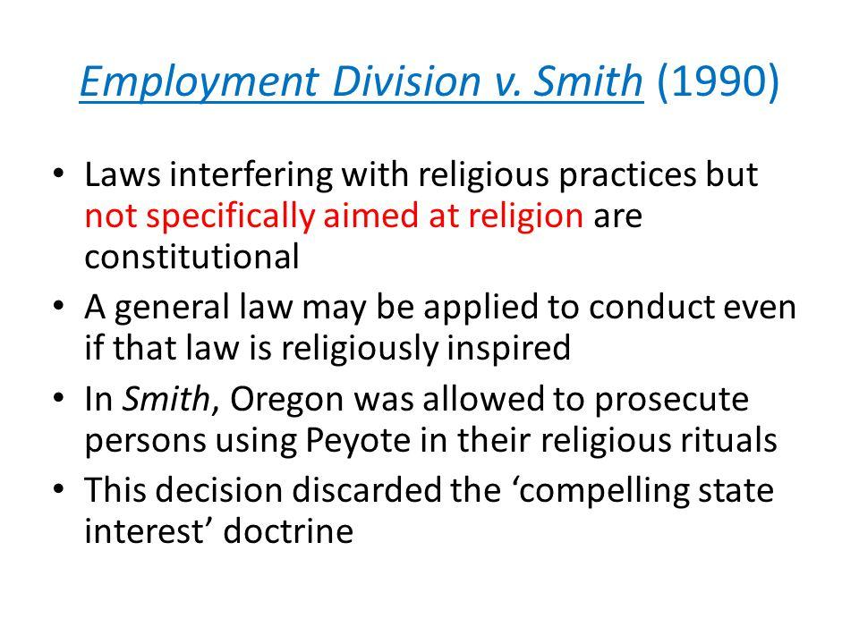 Employment Division v.