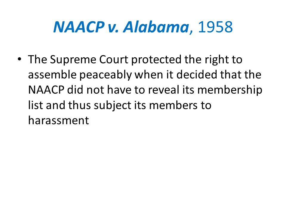 NAACP v.