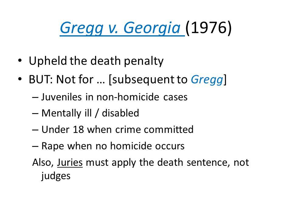 Gregg v.