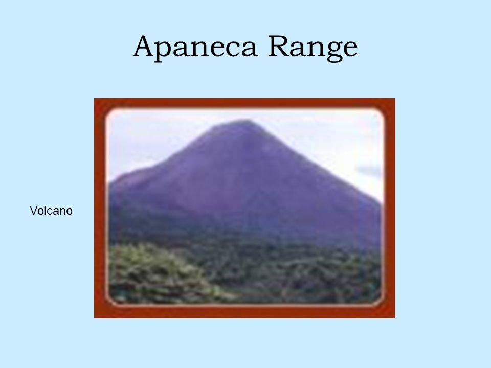 Apaneca Range Volcano