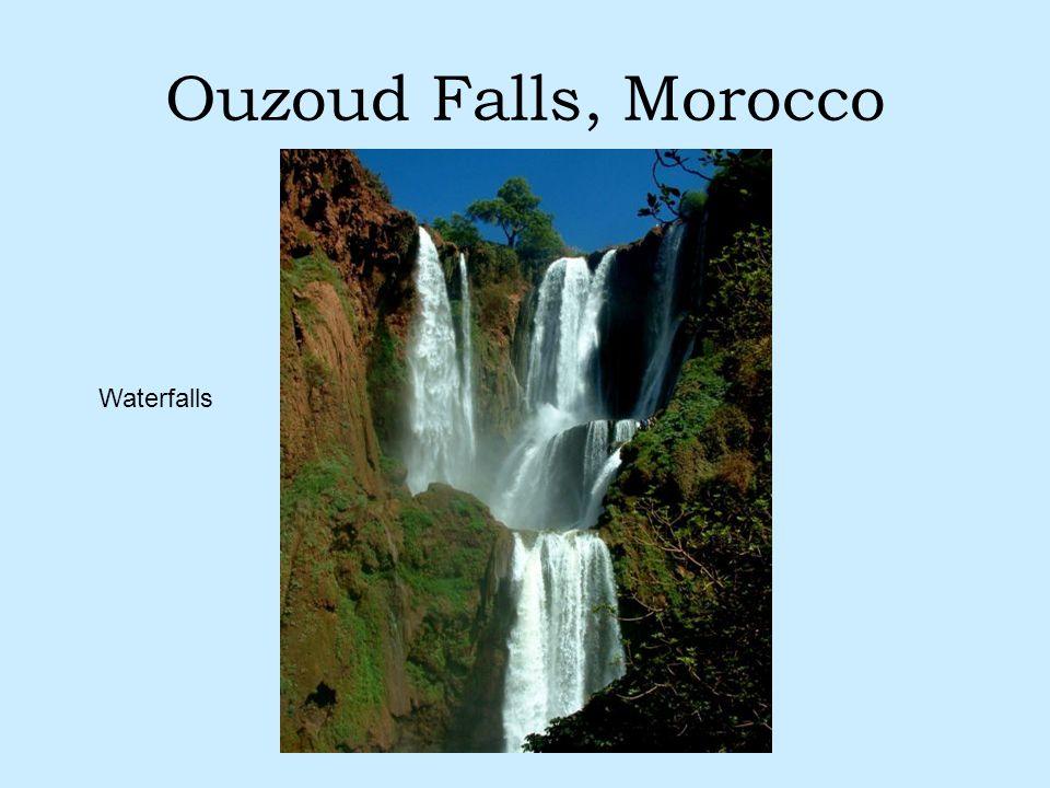 Ouzoud Falls, Morocco Waterfalls