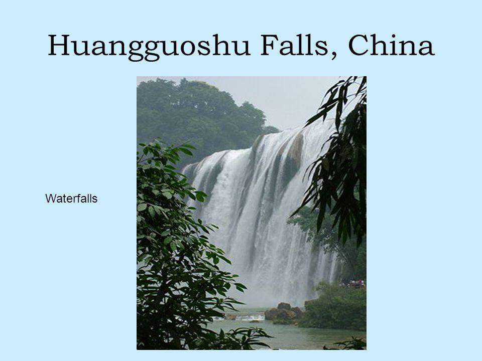 Huangguoshu Falls, China Waterfalls