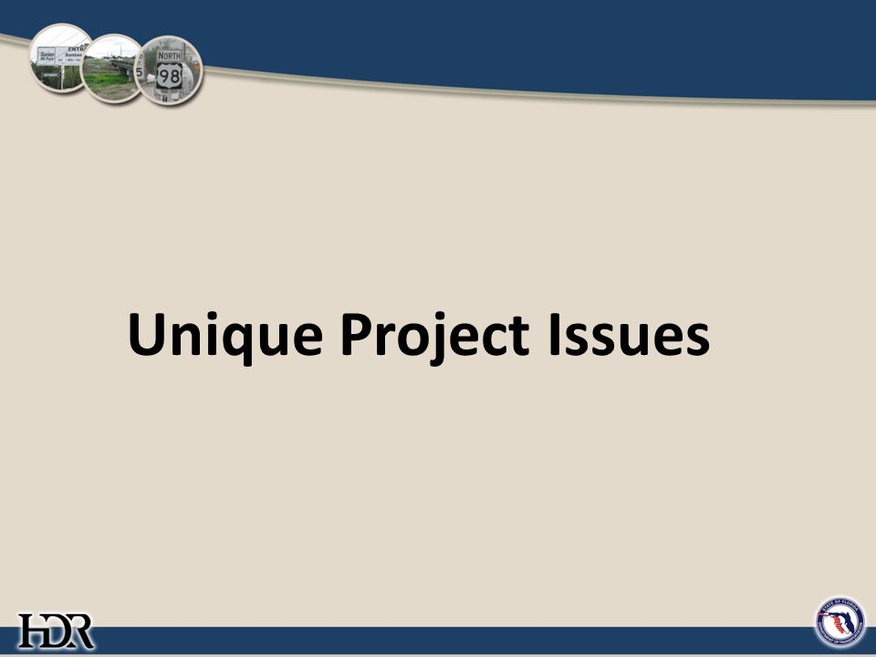 Unique Project Issues