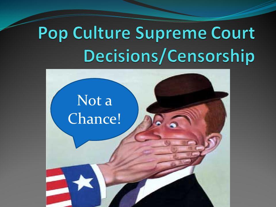 FCC Criticisms 1.Too harsh; violate 1 st Amendment 2.