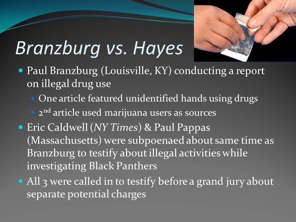 Branzburg vs.