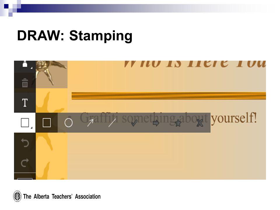 DRAW: Stamping
