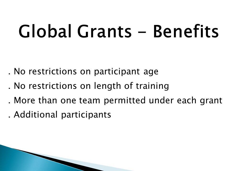 Global Grants -Example
