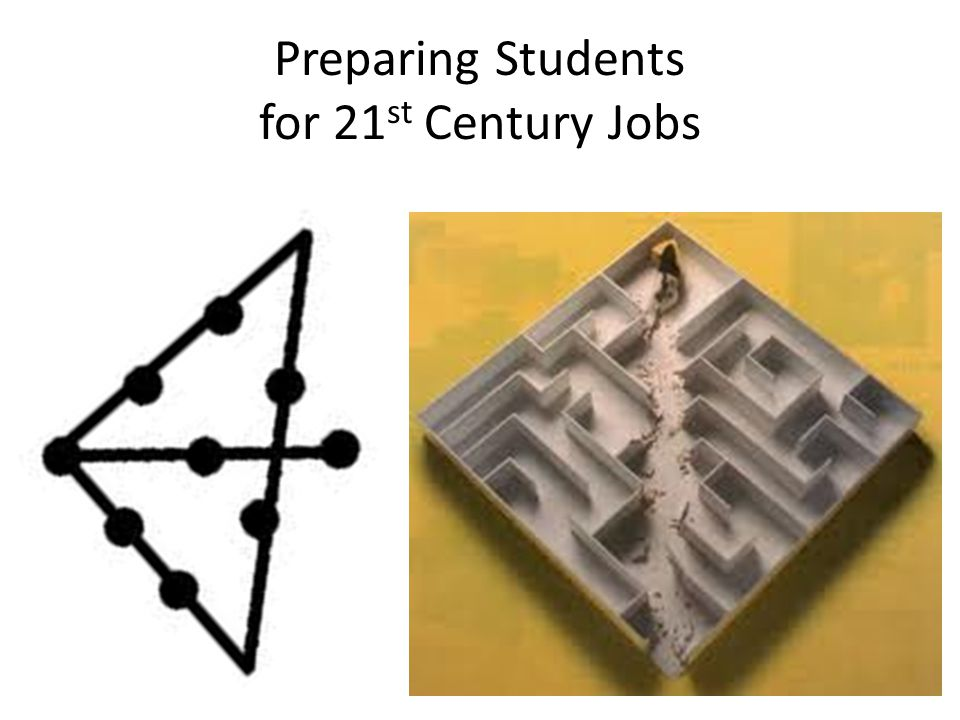 Preparing Students for 21 st Century Jobs