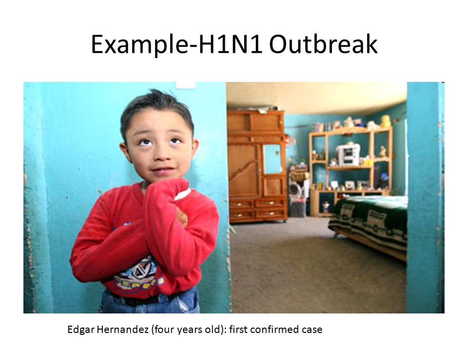 Edgar Hernandez (four years old): first confirmed case