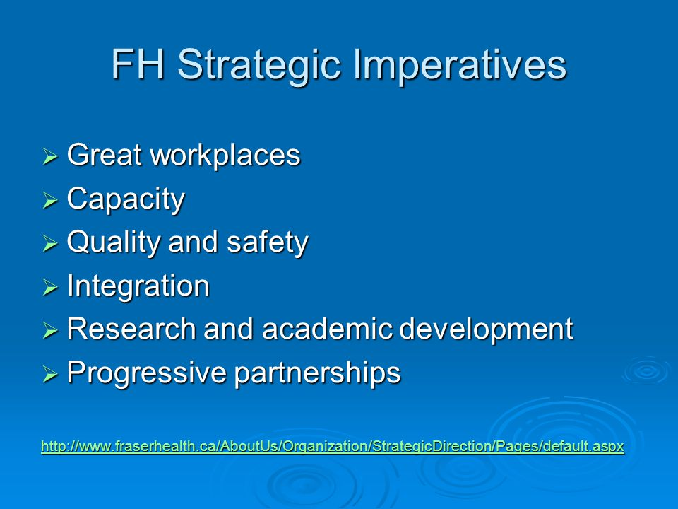 Eligibility  FH staff or privileged physician as principal investigator (PI).
