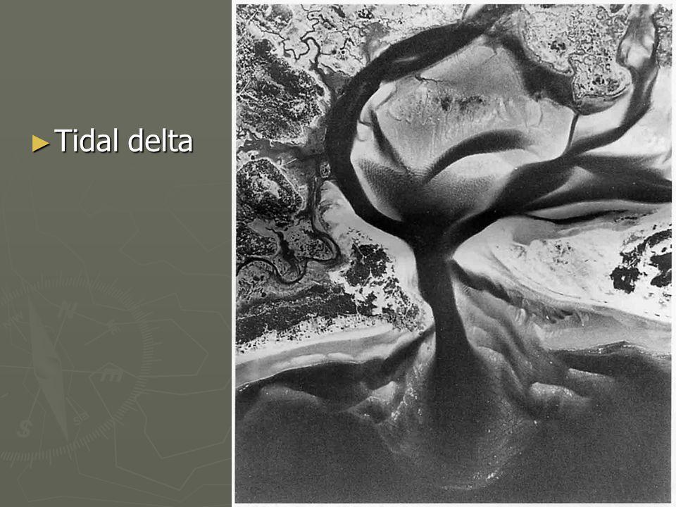 ► Tidal delta