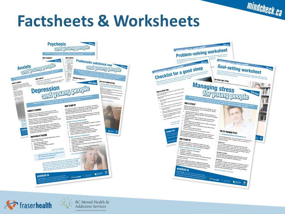 Factsheets & Worksheets