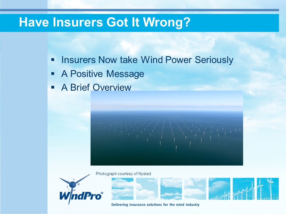 Have Insurers Got It Wrong.