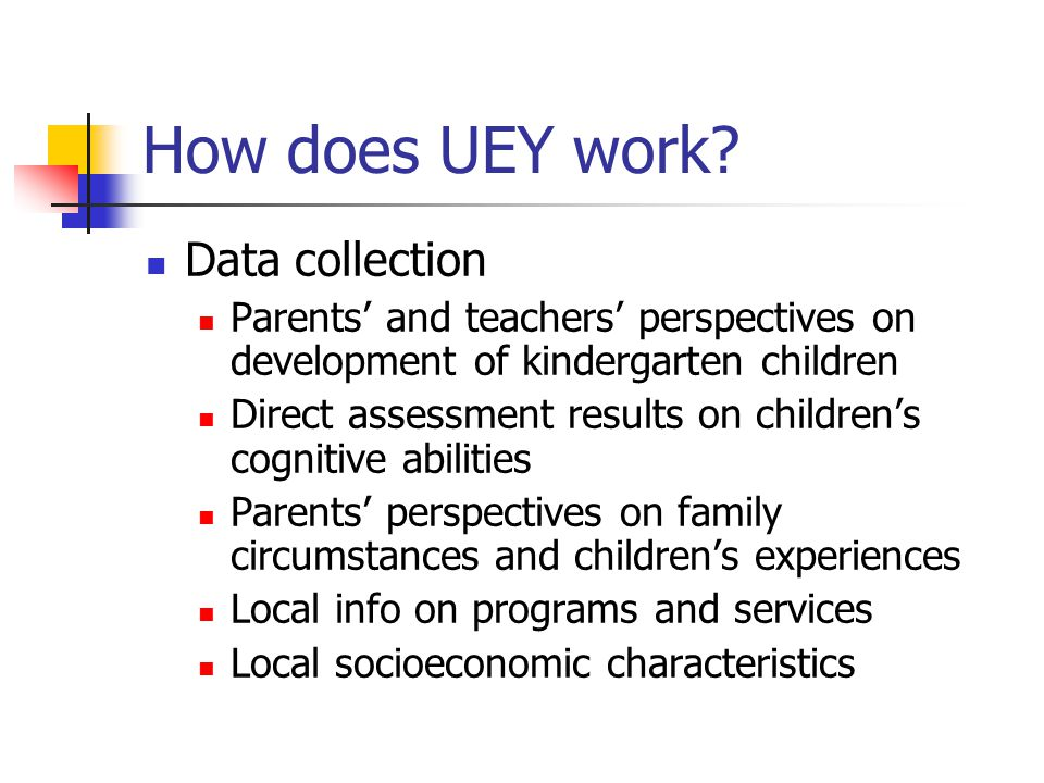 How does UEY work.