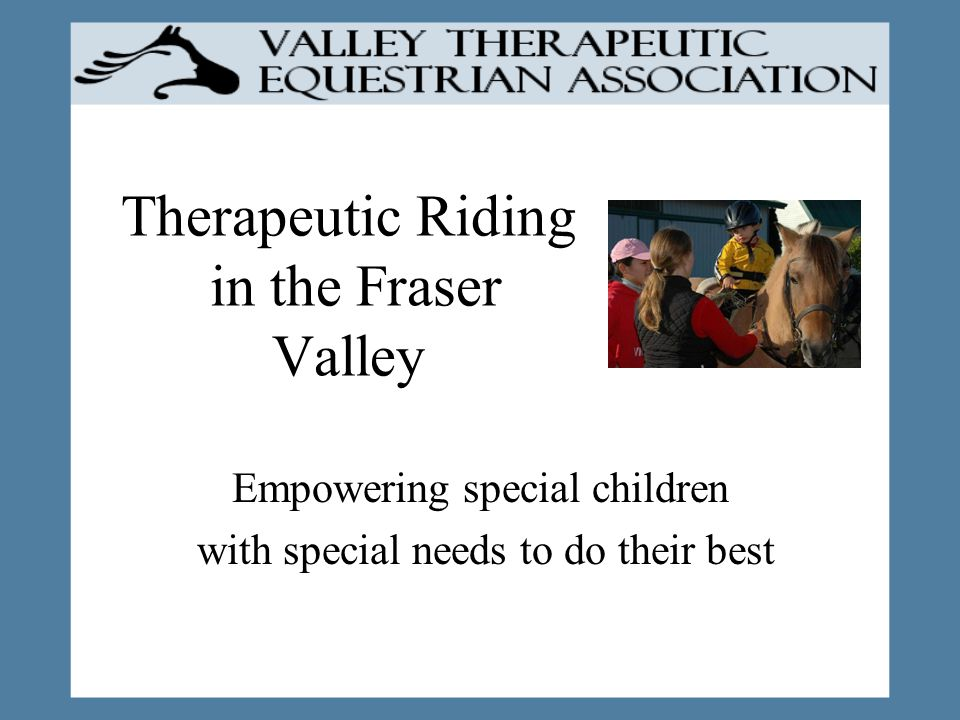 What Volunteers Gain When you see the way our special children relate to their horse, it will inspire you in a way that nothing else can.