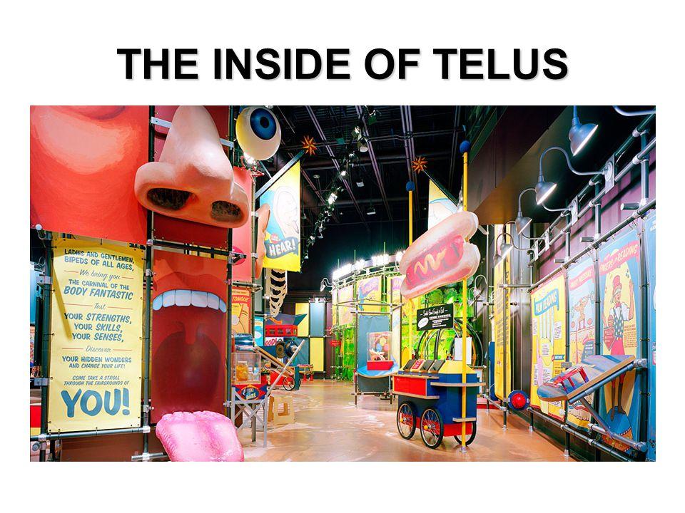 THE INSIDE OF TELUS