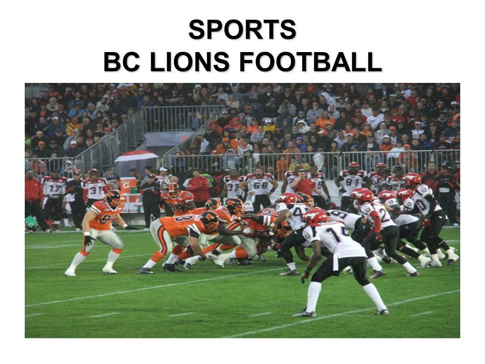 SPORTS BC LIONS FOOTBALL